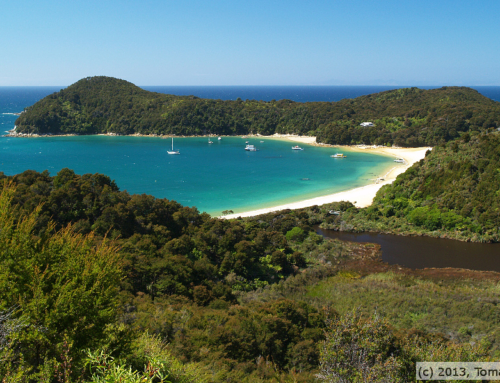Abel Tasman a Farewell spit